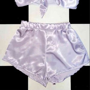 Omighty silk/satin shorts